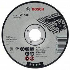 Disc abraziv de debitat 125x1,6 BOSCH  pentru Inox