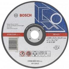 Disc abraziv de debitat 125x1,6 BOSCH  pentru metal