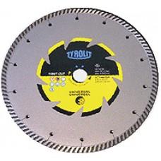 Disc diamantat pentru beton 115 - TYROLIT** C3R - TURBO
