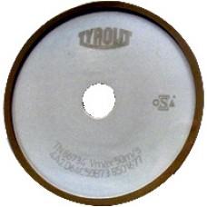 Disc Diamantat pentru ascutit panze circulare placate 125mm - Forma 4A2