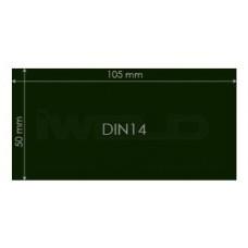 Filtru masca sudura DIN9 50 x 105