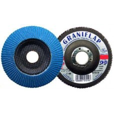Disc lamelar frontal 125 #120 mm Granit pentru Metal si Inox