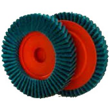 Disc lamelar scotchbrite 125 mm, granulatie VF pentru colturi