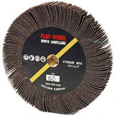 Perie abraziva radiala 125 x 20 x M14 A120