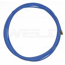 Liner din TEFLON  albastru 0,8-1,0mm, 3m pentru sarma aluminiu 0,8 - 1,0 mm