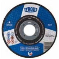 Disc abraziv de debitat 115x1,6 TYROLIT BASIC * pentru Metal si Inox