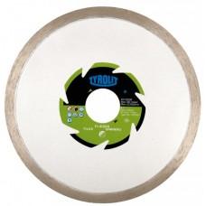 Disc diamantat pentru gresie-faianta 115 - TYROLIT* 1A1R