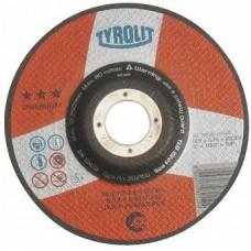 Disc abraziv de debitat 115x1 TYROLIT Premium*** pentru Inox