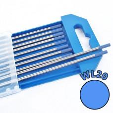 Electrod Wolfram 4,0x175mm - albastru - WL20